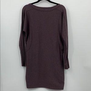 Athleta Sweatshirt Dress ~ Size M